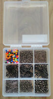 Sea Fishing Tackle Set-Makes up to 100+Rigs Swivels Beads Bait Clips Hooks boxed