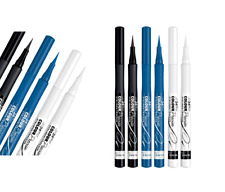 RIMMEL COLOUR PRECISE LIQUID PEN  EYELINER ELECTRIC BLUE OR WHITE  *CHOOSE