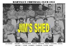 BARNSLEY F.C. TEAM PRINTS X 20 (1912-1971)