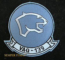 VAQ-139 COUGARS US NAVY HAT PATCH CV NAS Whidbey Island PIN CAG EA6B PROWLER