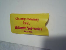 HOLSUM SOF-TWIST BREAD CASE WITH RAIN BONNET Country Morning Fresh,soft,baking