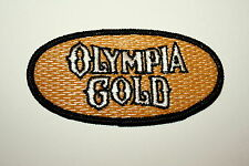 Oly Vintage Olympia Gold Beer Distributor Cloth Patch 1990s NOS New