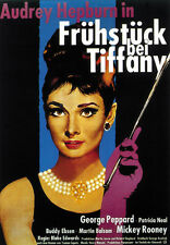 Breakfast at Tiffany's (1961) Audrey Hepburn movie poster print 3