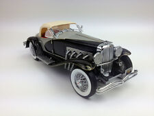 Ertl 1:18 1935 Duesenberg SSJ, Diecast Model Metal Car Black RARE White Box
