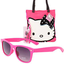 Hello Kitty Travel Set School Beach Tote Bag + Sunglasses + Beach Ball + BONUS