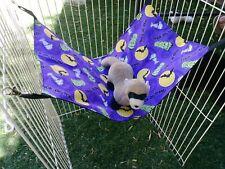 "Ferret Large Hammock - Halloween Trick Or Treat Pattern - 12"" x 21"""