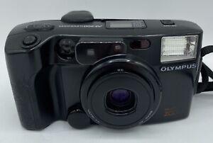 Olympus AZ 200 Super Zoom Multi AF Zoom 35mm Camera With Case & Original Strap
