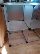 Cube Plastic Storage Clothes Organizer Closet Cupboard Shoe cabinet; Langria