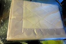 Vintage Storkex baby crib blanket soft pink 36 x 50 New old stock