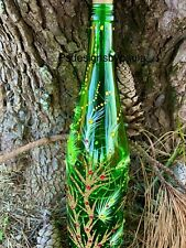 Swarovski Decorated Wine Bottle Lamp