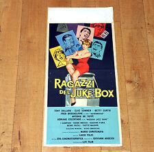RAGAZZI DEL JUKE BOX locandina poster Fred Buscaglione Dallara Celentano F59