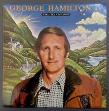 George Hamilton IV Feel Like A Million LP Record Country Rock Still Sealed! RARE