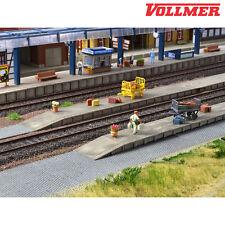 Vollmer 43558 H0 Gepäckbahnsteig, sechsteilig ++ NEU & OVP ++