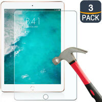 3-Pack Tempered Glass Screen Protector for iPad 9.7 Pro 5th 6th Air 2nd Gen 10.5