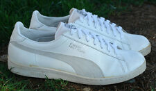 True Vintage 1990 Puma First Round Leather Sneakers US13 UK12 EU47 Taiwan great