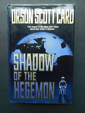SHADOW OF THE HEGEMON by Orson Scott Card 1st/1st hardcover with jacket 2001