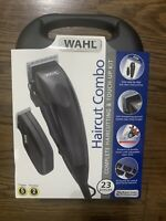 Wahl Haircut Combo Hair Clippers Complete Haircutting & Touch-Up Kit 23-Pieces