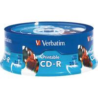 Verbatim 700MB 52x Extra Protection CD-R Printable 25 Pack Spindle