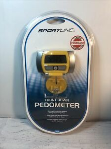 SportLine Count Up / Count Down Pedometer - NEW