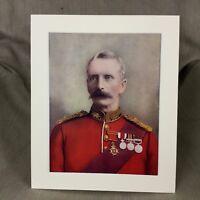 1900 Generale Woodgate Royal Lancaster Regiment Militare Originale Antico Stampa