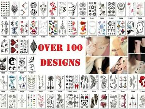 Removable Temporary Tattoo Sticker Waterproof Small Tatoo