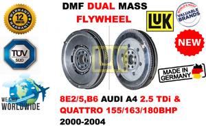 FOR 8E2/5,B6 AUDI A4 2.5 TDi & QUATTRO 2000-2004 NEW DUAL MASS DMF FLYWHEEL