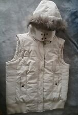 Katies Sleeveless Hoodie jacket Vest S18 Removeable trim & Hood AS NEW. RR $59