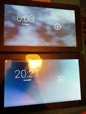 2 x faulty tablets with cracked digitizers