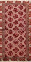Geometric Bokhara Oriental Area Rug Traditional Hand-knotted Wool Carpet 3x4 New