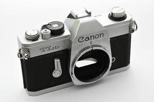 Canon TLb, Gehäuse Spiegelreflexkamera
