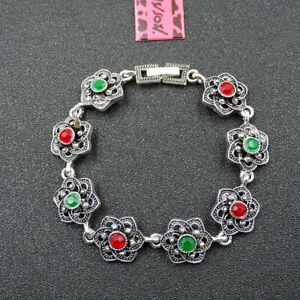 Betsey Johnson Fashion Jewelry Noble Cool Gemstone Bangle Bracelet