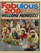 Fabulous 208 Magazine 1 July 1967 Beatles Tremeloes Lulu Monkees Mickey Dolenz