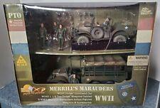 """RARE"" ULTIMATE SOLDIER 21 CENTURY TOYS MERRILLS MARAUDERS 1/18 SCALE"