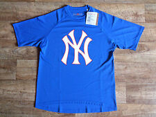 Jerzees New York Yankees Performance Baseball Herren T-Shirt Größe XS NEU
