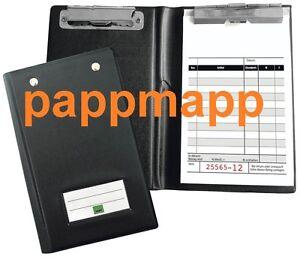 Kassenblockhülle/Kassenblockmappe für Kassenblöcke, Kassenzettel