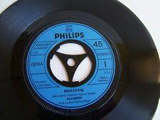 "Nazareth - Hard Living / Spinning Top 6000 067 German 7""  1972 Philips"