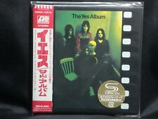 YES The Yes Album + 3JAPAN Mini LP SHM-CD 1971 3rd 40th Anniversary WPCR-13514