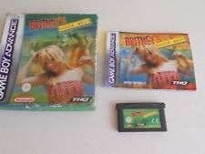 BRITNEYS DANCE BEAT GAMEBOY / Advance / SP Gba GAME