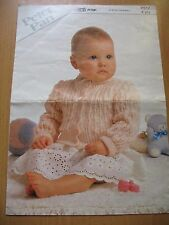 Peter Pan a Wendy Design Babies Cardigan sizes 16-24 inches leaflet P517