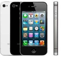 100%  New Original Apple iPhone 4S 32GB Black sealed never used GSM unlock