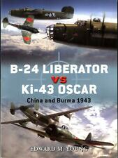 OSPREY DUEL 41 B-24 LIBERATOR vs Ki-43 OSCAR WW2 BG USAAF IJAAF NAKAJIMA HAYABUS