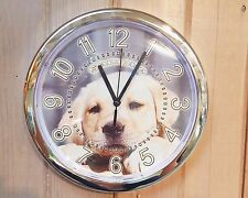 Custom made SILVER Wall Clock