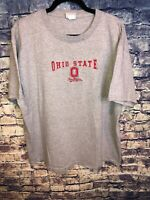 Vtg 90's Ohio State Buckeyes Grey T-Shirt Lee Sport Football NCAA Size XL