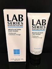 LAB Series Skincare For Men MULTI-ACTION FACE WASH 3.4oz/100ml  NIB