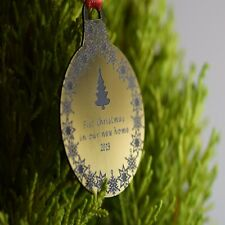 Personalised Christmas Bauble Engraved Tree Decoration Gift stockings boyfriend