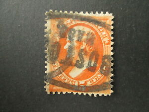 US stamp Webster 15c nice Boston Mass. cancel USA