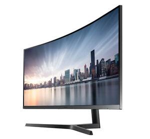 "SAMSUNG C34H890 34"" 3440 x 1440 ultrawide curved monitor"