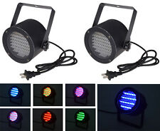 2pcs 86 RGB LED Stage Light Par DMX-512 Lighting Laser Projector Party DJ Disco