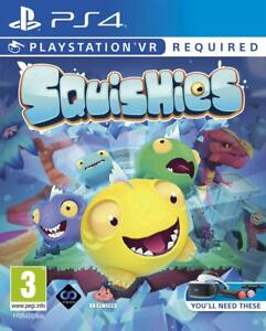 Squishies - Sony PlayStation 4 [PSVR PS4 Adventure Puzzle Family Game] NEW