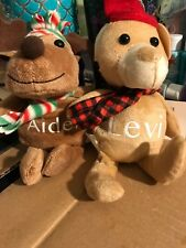 Personalized Christmas friends, Plush Stuffies, Christmas Elf Plush toy, Gifts,